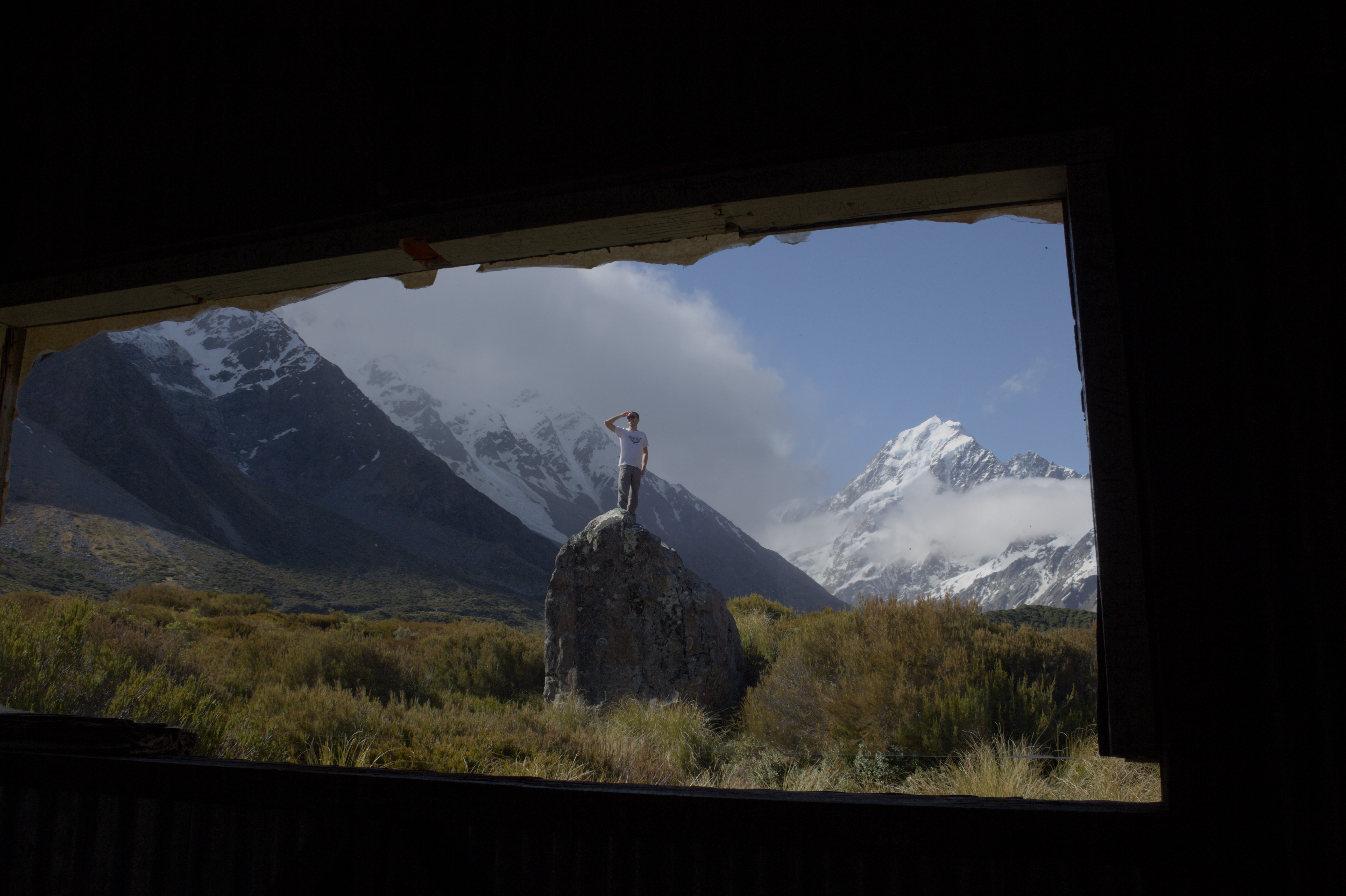 Ausblicke wohin man auch schaut (ja, von dem Berg hab ich ein paar Bilder...)